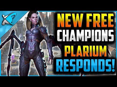 NEW FREE CHAMPIONS / LOGIN PROGRAM | Plarium Responds !! | Patch 2.10 News | RAID: Shadow Legends