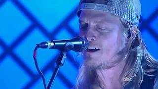 Puddle Of Mudd - Spaceship - (Live) On Jimmy Kimmel 2010
