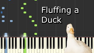 [Kevin MacLeod - Fluffing a Duck] Piano Tutorial