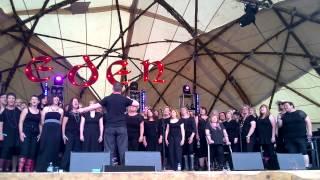Dumfries Community Choir @ Eden 2014   New Order True Faith