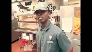 Nigga went to Burger King and wanted a big mac