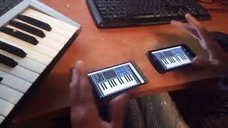 Pure Chords Android Keyboard and Controller - 7 Multiple App Instances