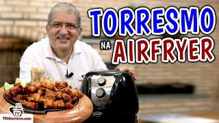 Como Fazer Torresmo na Airfryer - Tv Churrasco