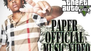 """Lil Lonnie """"Paper"""" Feat. Moneybagg Yo Official GTAV Music Video"""