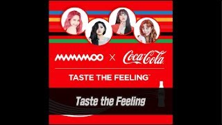 [마마무] 마마무(MAMAMOO)X코카콜라(Cocacola) Taste The Feeling