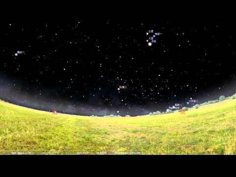 模擬星空軟體 Stellarium 的基本操作與練習1 - YouTube