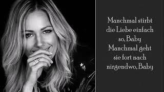 Manchmal Kommt Die Liebe Einfach So - Helene Fischer - (Lyrics)