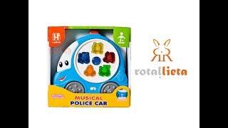 Attīstošās rotaļlietas bērniem - MUSICAL CAR LETHOT
