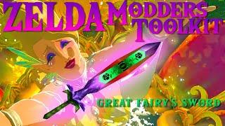 ZELDA BOTW MOD - Great Fairy's Sword (Majora's Mask)