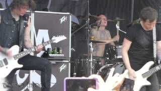 Asking Alexandria - Not the American Average - Live 6-28-15 Vans Warped Tour