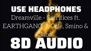 Dreamville - Sacrifices ft. EARTHGANG, J. Cole, Smino & Saba (8D USE HEADPHONES)🎧