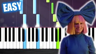 LSD - Thunderclouds ft. Sia, Diplo, Labrinth - EASY Piano Tutorial by PlutaX