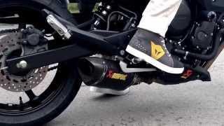 Yamaha XJ6 @ Akrapovic