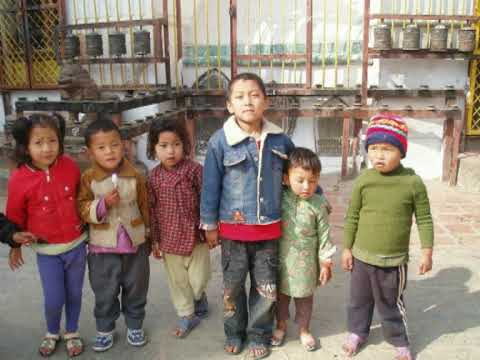 Children from India and Nepal.