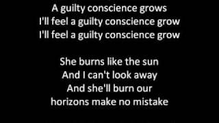Muse - Sunburn (with lyrics)
