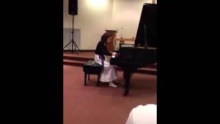 Eleanor W. Chen 2012 Bach Baroque Festival Concert  02-25-2