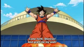 Goku Summons Shenron - Dragon Ball Super Episode 68