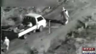 GRAPHIC FIREFIGHT - Apache Helicopter Spots Insurgents in Iraq
