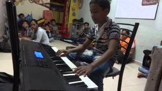 TUM HI HO INSTRUMENTAL BY BRILLIANT MUSIC ACADEMY (10 YRS OLD KID PLAYING)