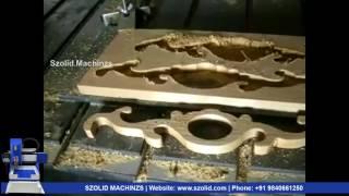 CNC Router Machine 2D Wood Cut @szolid Machinzs