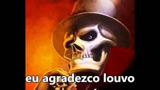 """Exú Caveira """"Afirma ponto na folha da bananheira"""" Martin de Xango SUBTITULADO Y CON LETRA"""