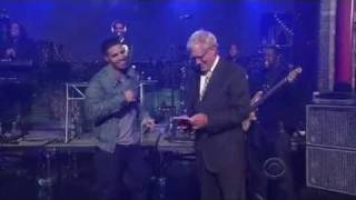 Drake - Show Me A Good Time (David Letterman Live)
