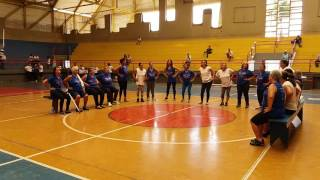 Dança Sênior - Macarena. I Encontro Pedroleopoldense de Práticas Integrativas Saúde