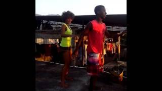 João Paulo e Joana Cristina dançando End of Tiime