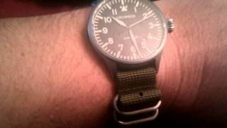 Zulu watch strap
