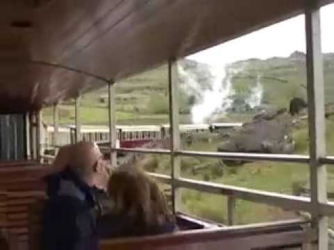 Beyer-Garratt No 87 on the Welsh Highland Railway Part 4 of 5