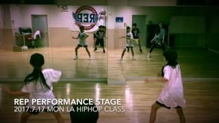 2017年7月17日 LA HipHop class