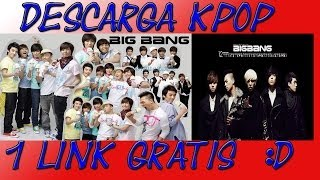 COMO DESCARGAR DISCOGRAFIAS COMPLETAS DE KPOP 1 LINK GRATIS!!!!!