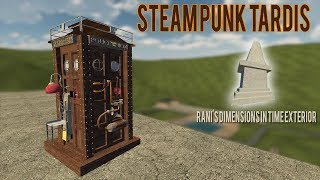 Steampunk Tardis & Rani Dimensions in Time Addon!