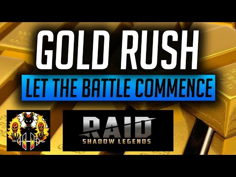 RAID: Shadow Legends | GOLDRUSH! WHO CAN WIN THE BIG PRIZE? COMPETITION & SUMMONS!