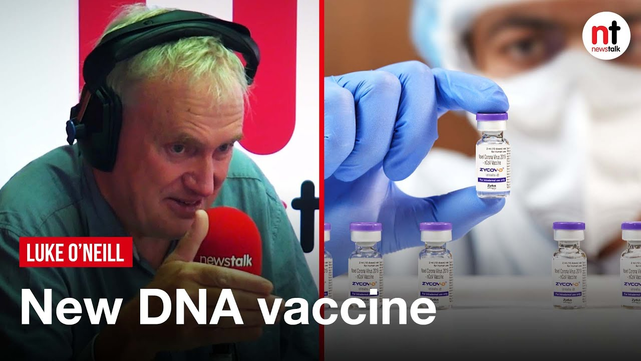ZyCoV-D is a COVID-19 DNA Vaccine 'that doesn't need to be Injected': Luke O'Neill