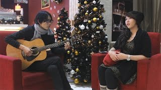 Merry chirstmas collection songs cover by Namuun Jeni