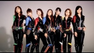 KAMEN RIDER GIRLS / 「E-X-A (Exciting × Attitude)」告知映像