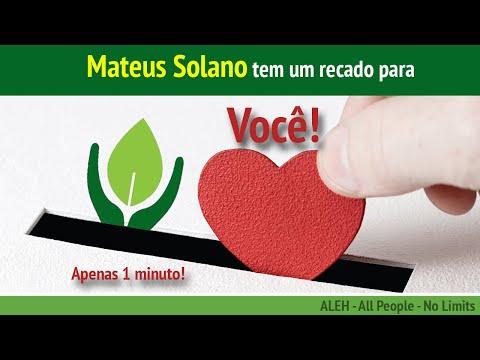 ALEH Israel - Um recado de Mateus Solano!