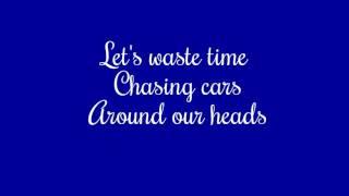 Snow Patrol- Chasing Cars (Ed Sheeran Cover w/lyrics)