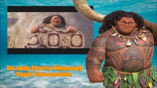 DE NADA (You're Welcome - Brazilian Portuguese) - Moana