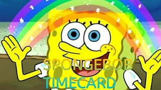 FREE SPONGEBOB TIMECARDS USE BY VLOGGERS!