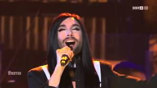 Conchita Wurst in Sydney Opera House  You are unstoppable, 3 3 2016