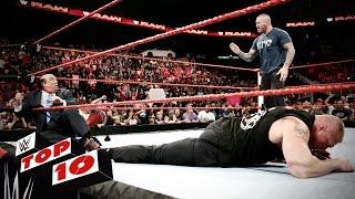WWE top 10 mejores momento de Raw (02-08-2016)