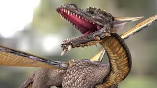 Dragon in Real Life - CGI 3D Animation