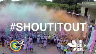 Shout®: The Color Run™ Perspective