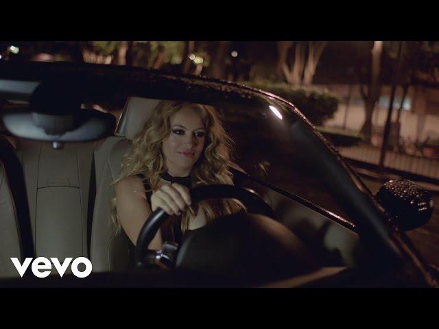 Videoclip oficial de la canción Me Quema de Paulina Rubio