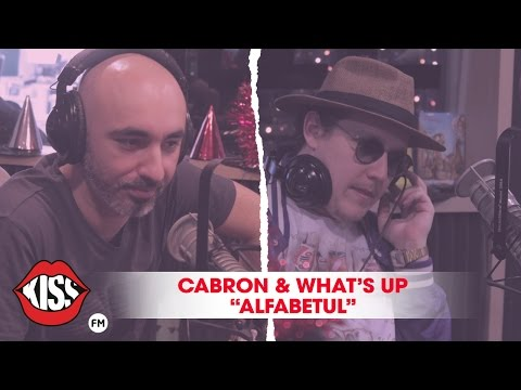 Cabron & What's UP - Alfabetul LIVE