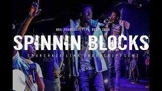"[FREE] NBA YOUNGBOY TYPE BEAT 2018 ""Spinnin Blocks"" (Prod. By @two4flex)"