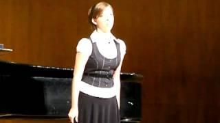 Se tu m'ami (Pergolesi) Sarah Hughes at OSU 2008-10-15