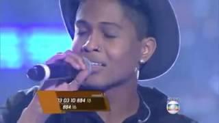 the voice brasil - Junior Lord canta 'Coleção'